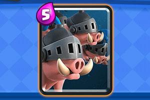 皇室战争3套胜率逆天的皇家野猪卡组