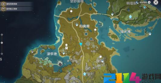 原神手游遗迹地图在哪