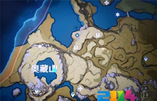 原神手游奥藏山遗迹宝藏在哪里?
