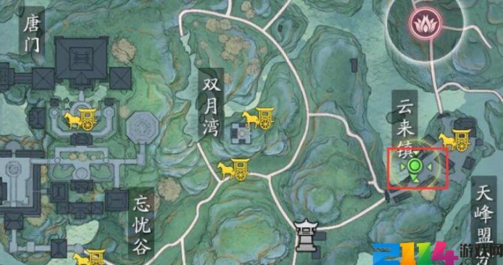 天涯明月刀手游人在江湖二奇遇怎么开启